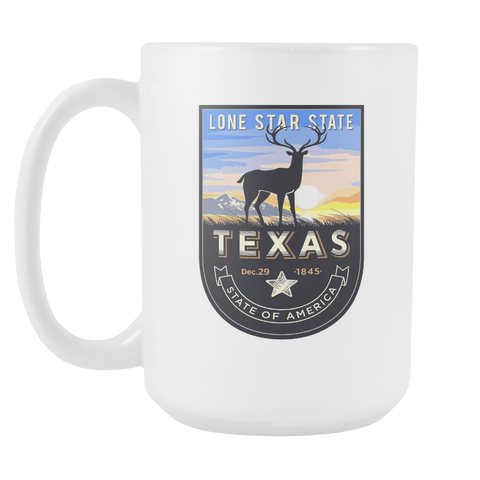 Texas - 15oz Coffee Mug (3 Versions)