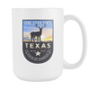 Image of Texas - 15oz Coffee Mug (3 Versions) - Nana The Noodle