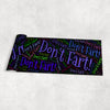 Image of Don't Fart! - Yoga Mat (4 Colors)