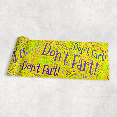 Don't Fart! - Yoga Mat (4 Colors) - Nana The Noodle