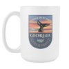 Image of Georgia - 15oz Coffee Mug (3 Versions) - Nana The Noodle