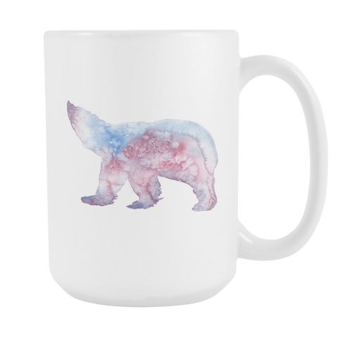 Polar Bear - 15oz Coffee Mug - Nana The Noodle