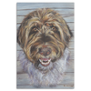Image of Terrier in Pastels -  Canvas Art Print (4 Sizes)