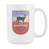 Image of New Hampshire - 15oz Coffee Mug (3 Versions) - Nana The Noodle