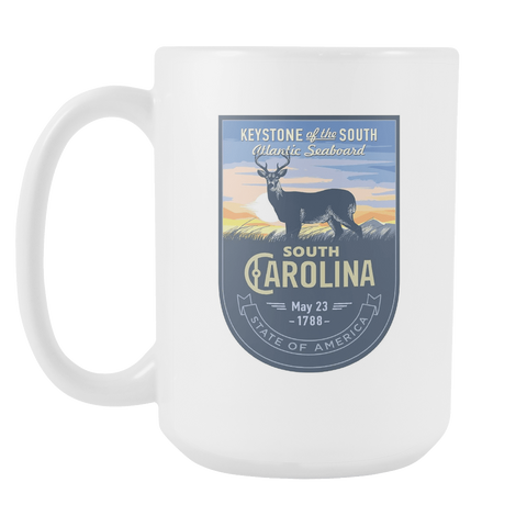 South Carolina - 15oz Coffee Mug (3 Versions)