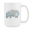 Image of Hippopotamus - 15oz Coffee Mug - Nana The Noodle