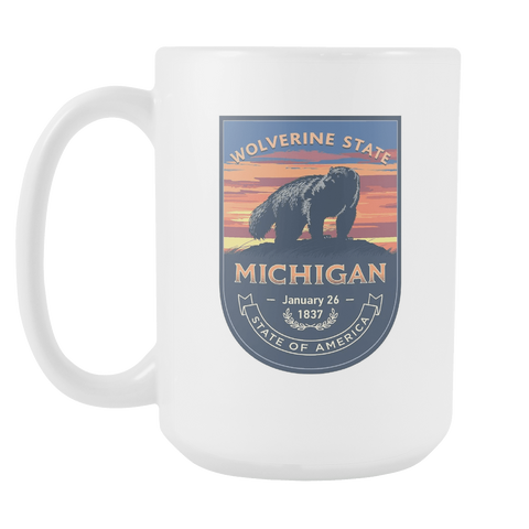 Michigan - 15oz Coffee Mug (3 Versions) - Nana The Noodle