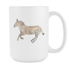 Image of Horse - 15oz Coffee Mug - Nana The Noodle