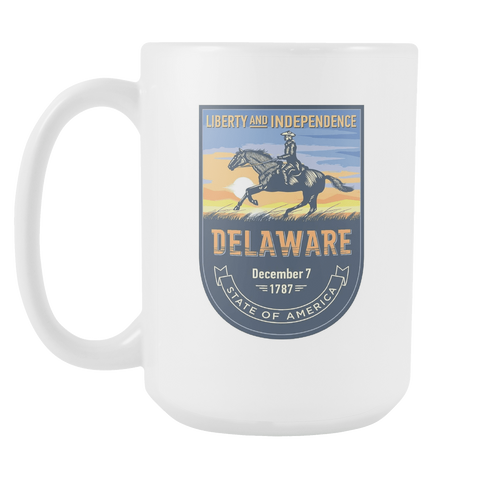 Delaware - 15oz Coffee Mug (3 Versions)
