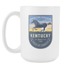 Image of Kentucky - 15oz Coffe Mug (2 Versions) - Nana The Noodle