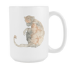Image of Velvet Monkey - 15oz Coffee Mug - Nana The Noodle