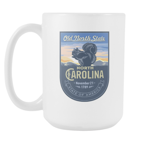North Carolina - 15oz Coffee Mug (3 Versions)