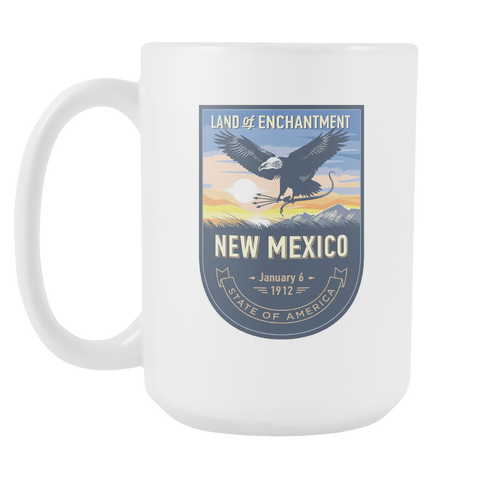 New Mexico - 15oz Coffee Mug (4 Versions)