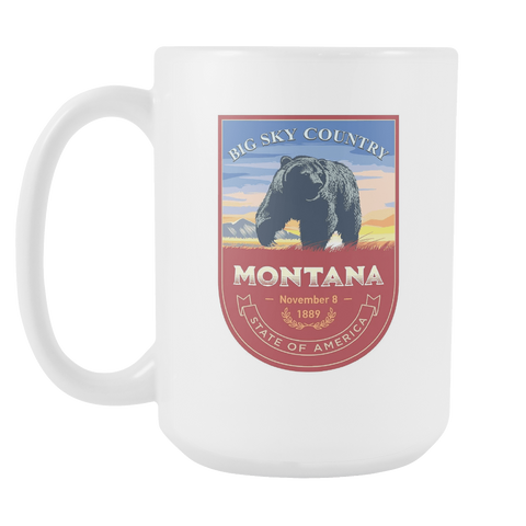 Montana -15oz Coffee Mug (3 Versions) - Nana The Noodle