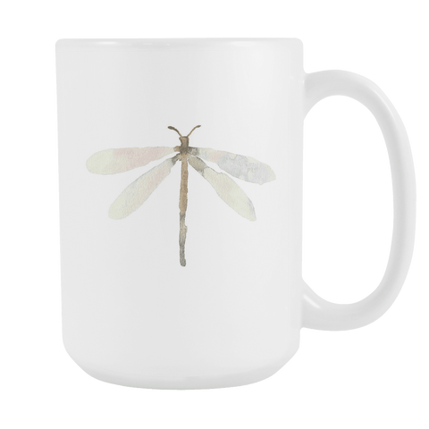 Dragonfly - 15oz Coffee Mug - Nana The Noodle