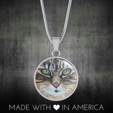 Tabby Cat (Necklace, Bracelet & Bangle)