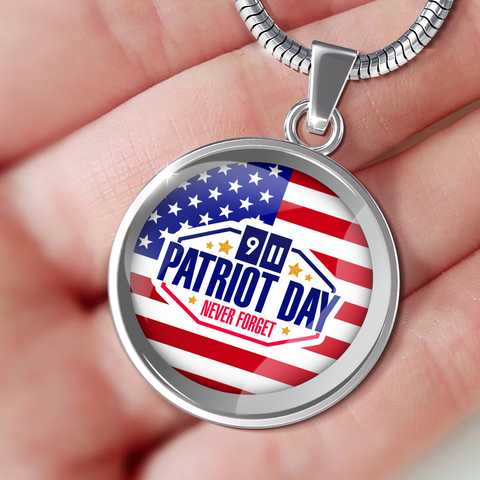 "Patriots Day ""Never Forget"" - Necklace, Bangle & Bracelet - Nana The Noodle"