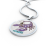 Image of Scorpio Cartoon Necklace - Nana The Noodle