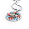 Image of Patriots Day Handprint Design - Necklace, Bangle & Bracelet - Nana The Noodle