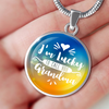 Image of I'm Lucky to Call You Grandma (Necklace, Bracelet or Bangle) - Nana The Noodle