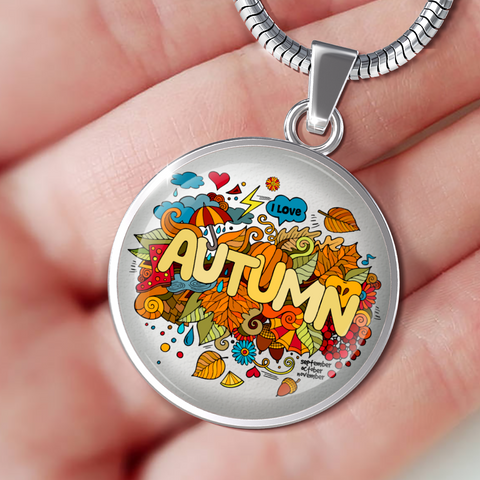 I Love Autumn (Necklace, Bangle & Bracelet)