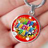 Image of Happy Teacher's Day (Necklace, Bracelet or Bangle) - Nana The Noodle