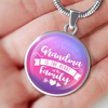 Image of Grandma Is The Heart Of The Family (Necklace, Bracelet or Bangle)