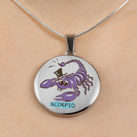 Scorpio Cartoon Necklace - Nana The Noodle