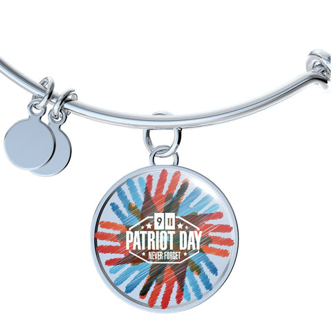 Patriots Day Handprint Design - Necklace, Bangle & Bracelet