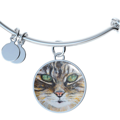 Tabby Cat (Necklace, Bracelet & Bangle) - Nana The Noodle