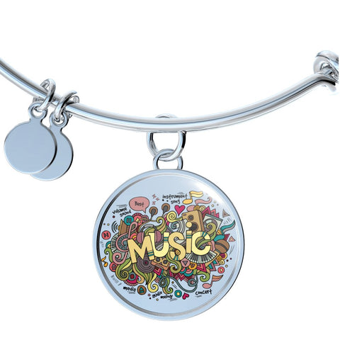 Music (Necklace, Bangle & Bracelet)