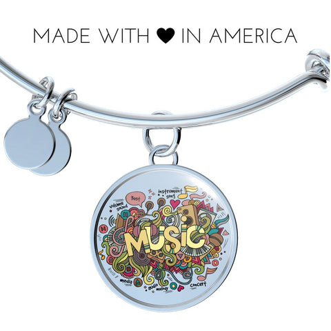 Music (Necklace, Bangle & Bracelet) - Nana The Noodle