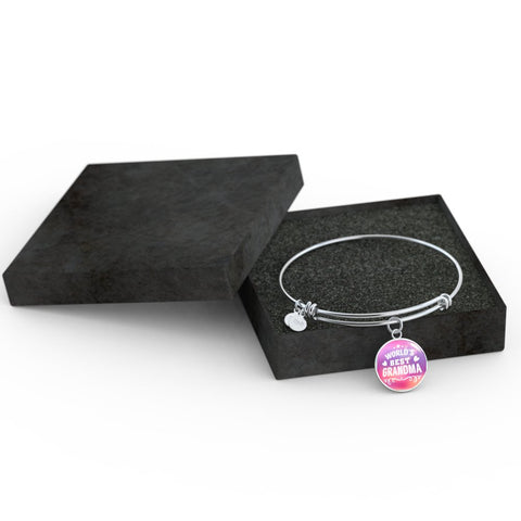 World's Best Grandma (Necklace, Bracelet or Bangle)