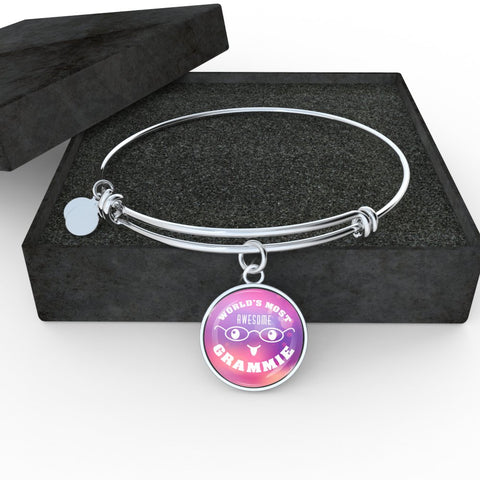 World's Most Awesome Grammie (Necklace, Bracelet or Bangle)