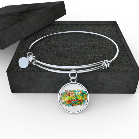 Thank You (Necklace, Bangle & Bracelet)