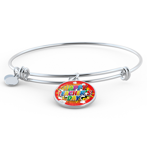Happy Teacher's Day (Necklace, Bracelet or Bangle) - Nana The Noodle