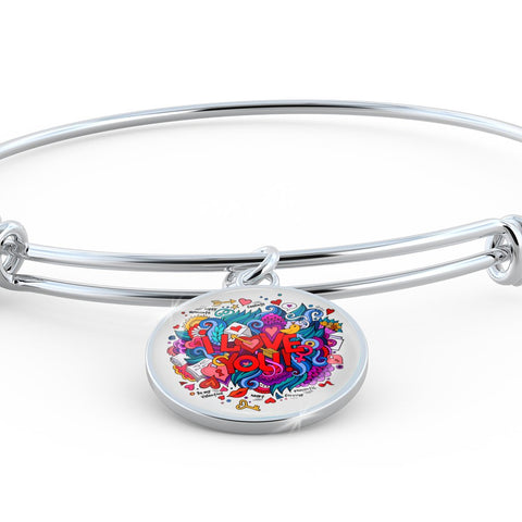I Love You (Necklace, Bangle & Bracelet) - Nana The Noodle