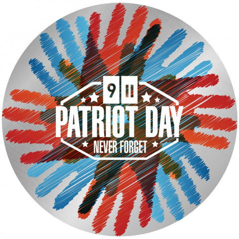 Patriots Day Handprint Design - Necklace, Bangle & Bracelet - Nana The Noodle