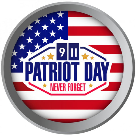 "Patriots Day ""Never Forget"" - Necklace, Bangle & Bracelet"