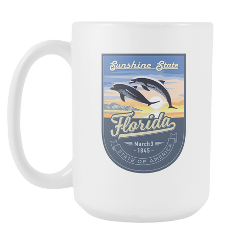 Florida - 15oz Coffee Mug (3 Versions)