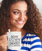 Image of Bow Down To The World's Greatest [OCCUPATION] Personalized Coffee Mug - Nana The Noodle