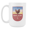 Image of Rhode Island - 15oz Coffee Mug (3 Versions) - Nana The Noodle
