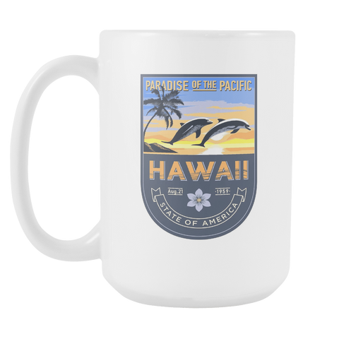 Hawaii - 15oz Coffee Mug (3 Versions)