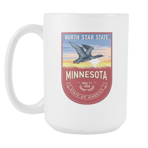 Minnesota - 15oz Coffee Mug (3 Versions) - Nana The Noodle