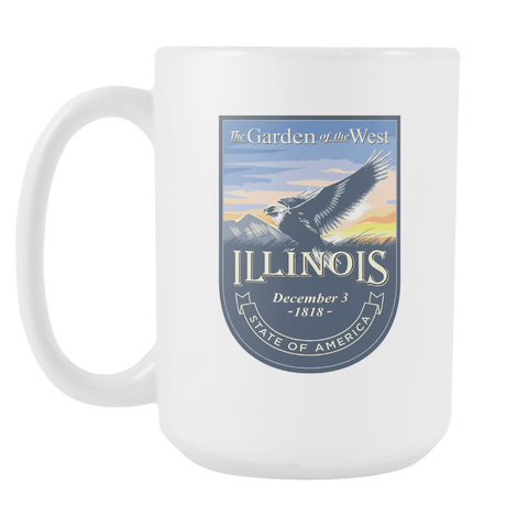 Illinois - 15oz Coffee Mug (3 Versions)