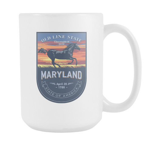 Maryland - 15oz Coffee Mug (3 Versions) - Nana The Noodle