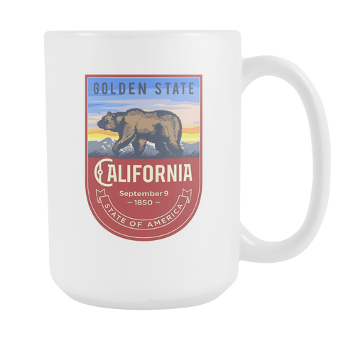California - 15oz Coffee Mug - Nana The Noodle