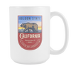 Image of California - 15oz Coffee Mug - Nana The Noodle