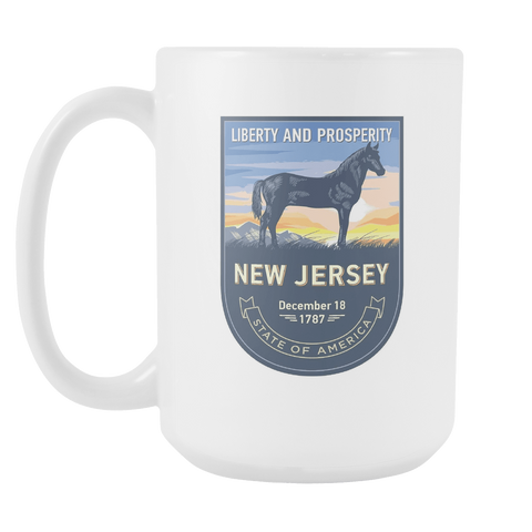 New Jersey - 15oz Coffee Mug (3 Versions)