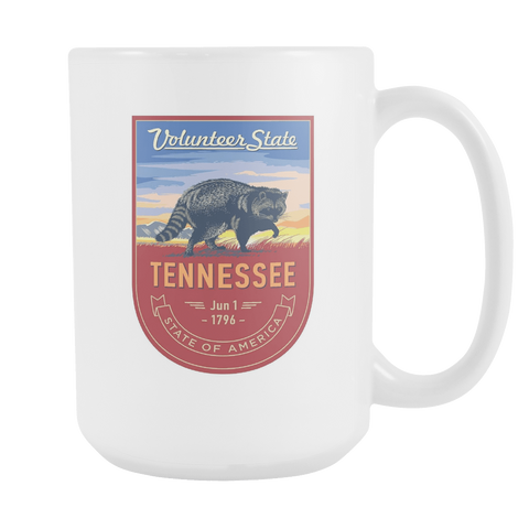 Tennessee - 15oz Coffee Mug - Nana The Noodle
